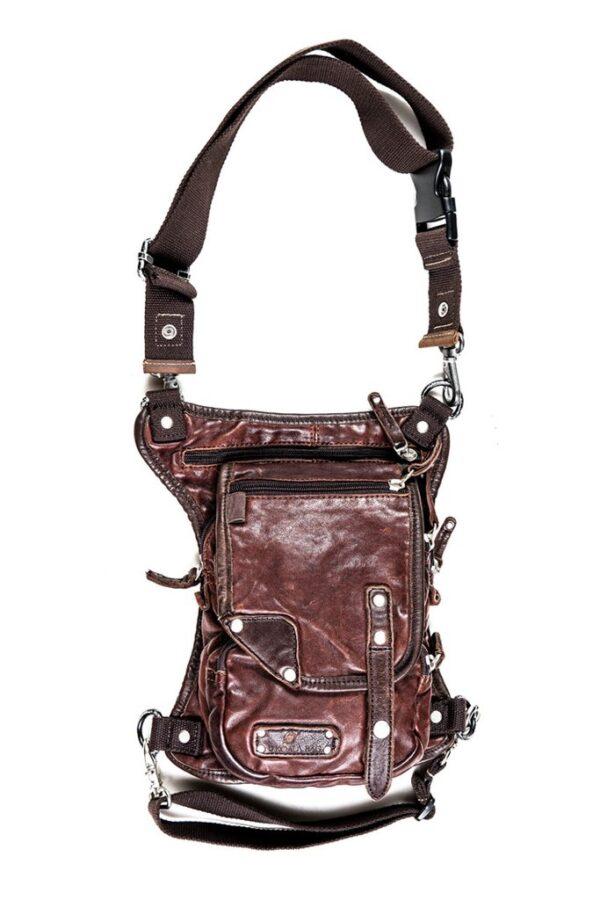 Distressed REAL Saddle Leather Ukoala Bag