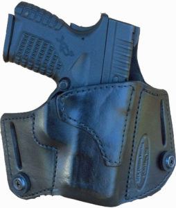 How to change your A-2 Dual Purpose (Carry) holster from IWB to OWB?