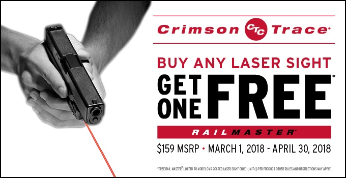 Current Laser Sight Promotions | Official Crimson Trace