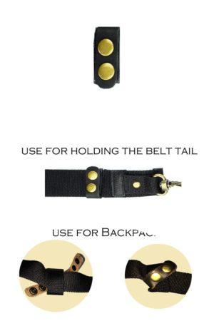 Ukoala- Leather Belt Keeper
