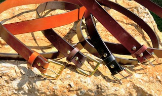 Casual Belts — MTR Custom Leather