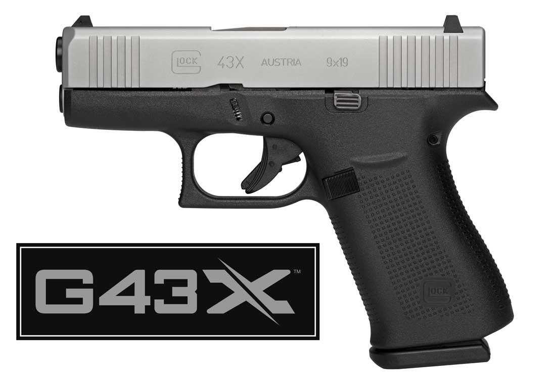 New Glock 43X Pistol