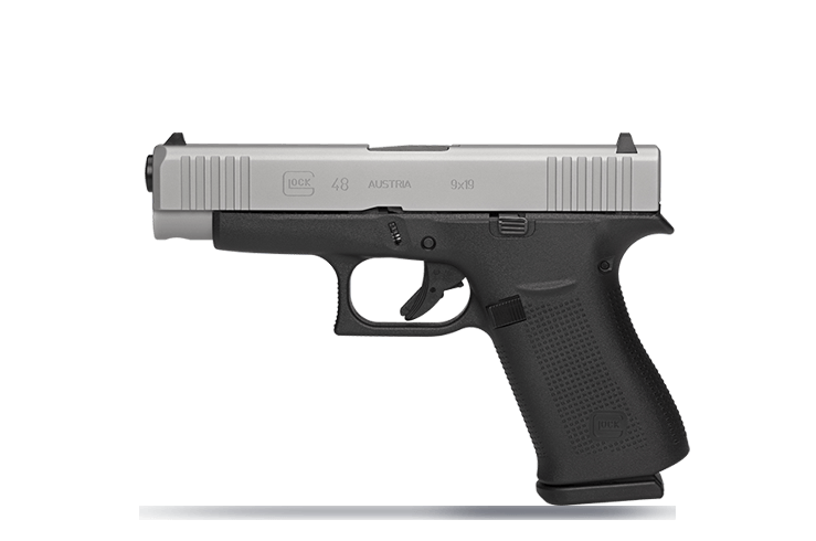 G48 - GLOCK 48 - Silver nPVD Slide***WE HAVE HOLSTERS NOW FOR THE GLOCK 48**