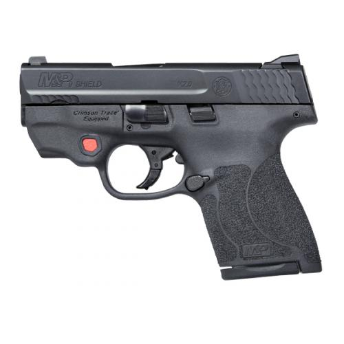 M&P®9 SHIELD M2.0™ Integrated Crimson Trace® Red Laser NTS | Smith & Wesson-MTR Custom Leather has holsters for this weapon