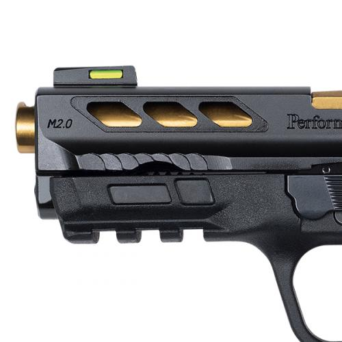 Performance Center® M&P®380 SHIELD™ EZ® M2.0™ Gold Ported Barrel | Smith & Wesson- MTR has holsters