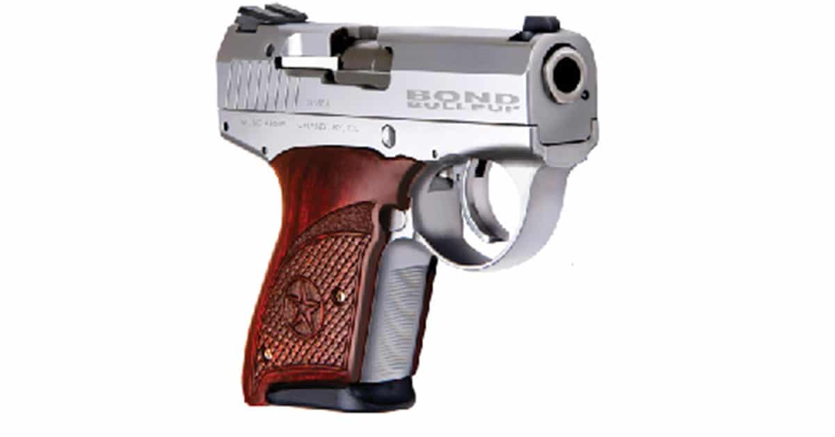 Bond Arms brought Boberg Arms-Change weapon name from Boberg Arms XR9-S to Bond Arms Bullpup