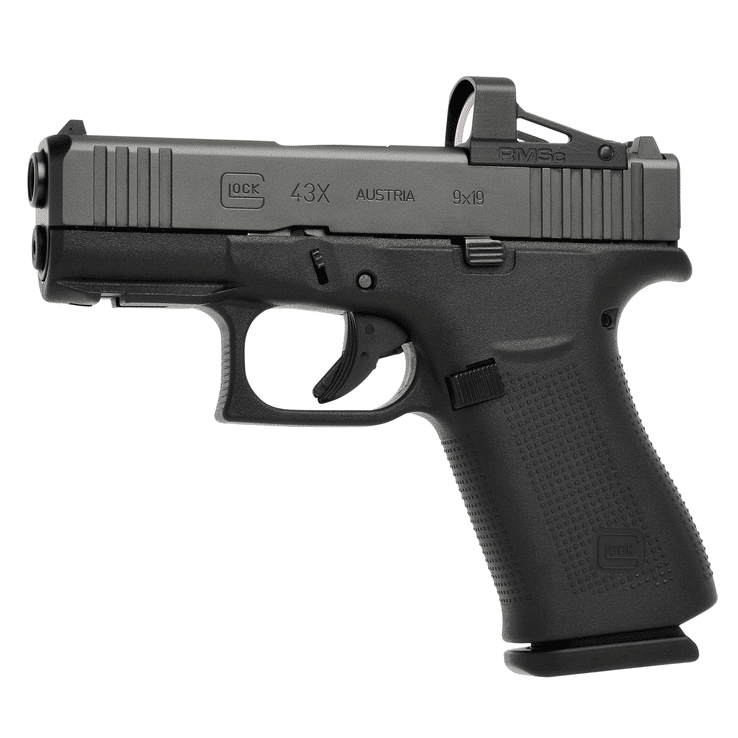 The G43X with Modular Optic System configuration.