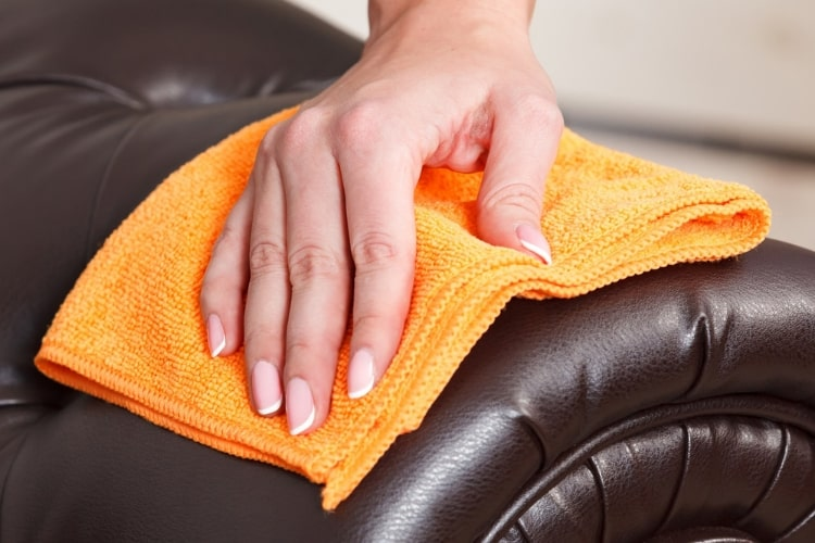 A leather restoration kit can help moisturize, repair, and protect your leather.