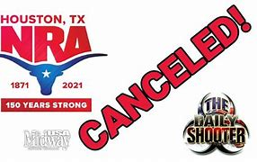 Image result for nraam cancelled